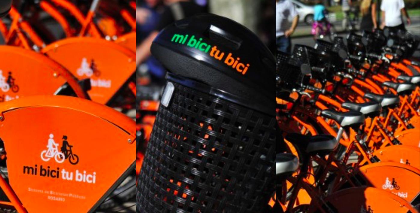 Entró en funcionamiento el nuevo sistema público de bicicletas de Rosario: Mi Bici TU Bici