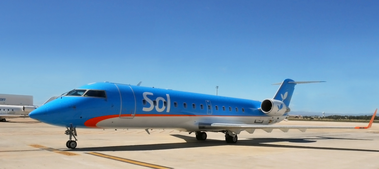 Sol Líneas Aéreas suma vuelos desde Rosario a Punta del Este y Mar del Plata
