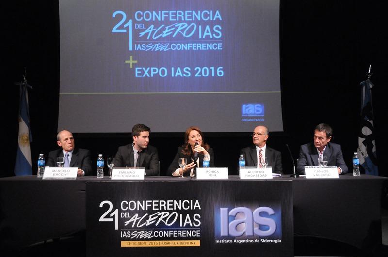 """Rosario fue sede de la Cumbre de Siderurgia 21° Conferencia del Acero: """"contribuyendo a la tecnificación y el conocimiento"""""""