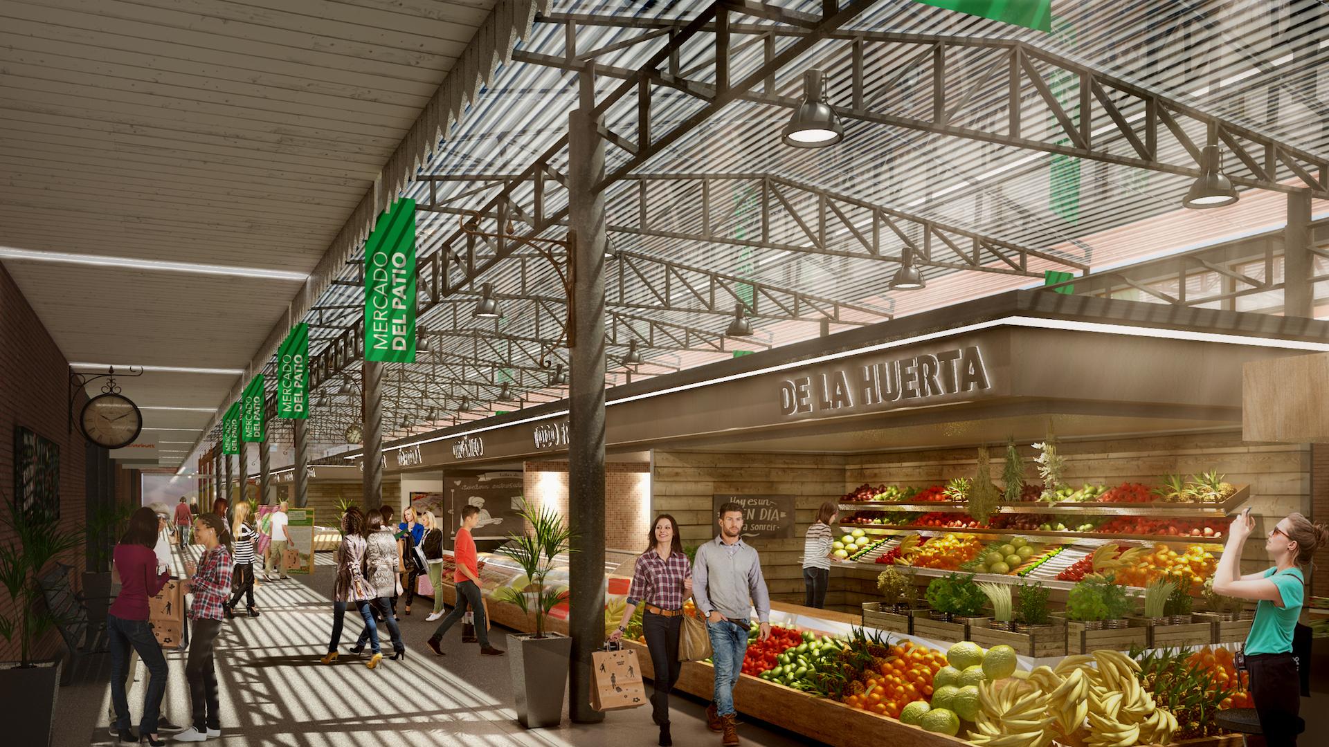 Este lunes comienzan las obras del Mercado del Patio, frente a la terminal de Ómnibus de Rosario