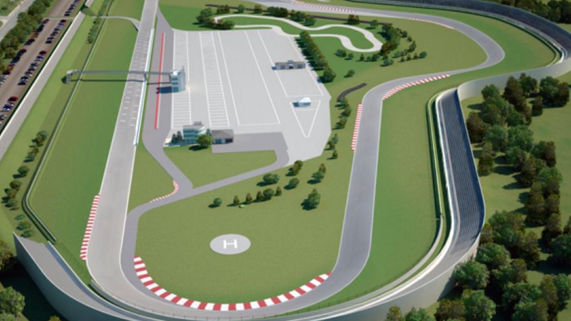 Se pone en marcha la ampliación del autódromo de Rosario