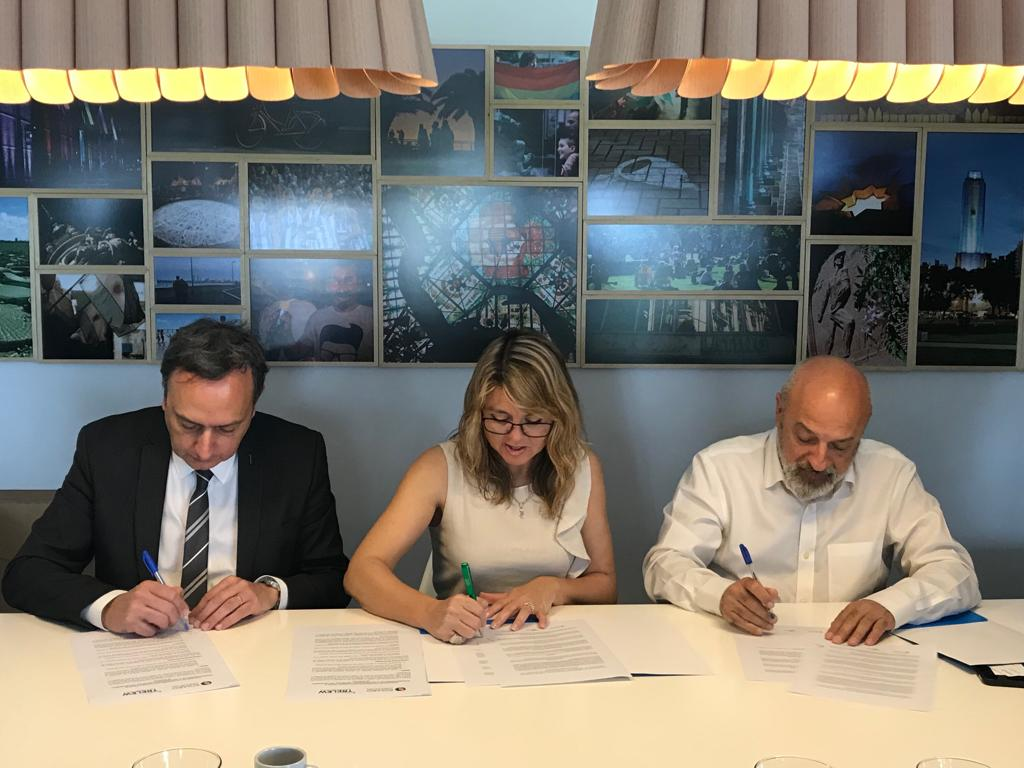 RC&VB firmó Convenio de Cooperación con Entretur Trelew Bureau de Eventos