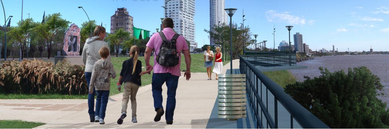 La costa de Rosario recuperada: más de 15 kilómetros de paseos públicos