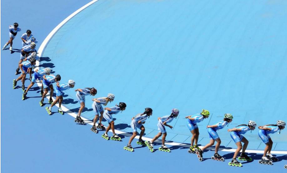 Avanzan nuevas obras de infraestructura en el patinódromo de Rosario